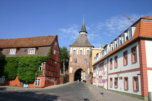 Kütertor, Stralsund, Unescos Verdensarvliste, Wismar, Lübeck, Hansaen, Hanseatforbundet, Mecklenburg Vorpommern, Nord-Tyskland
