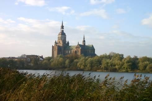 Marienkirche, Stralsund, Unescos Verdensarvliste, Wismar, Lübeck, Hansaen, Hanseatforbundet, Mecklenburg Vorpommern, Nord-Tyskland