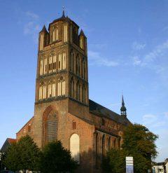 Middelalderkirken St Jacobi, Stralsund, Unescos Verdensarvliste, Wismar, Lübeck, Hansaen, Hanseatforbundet, Mecklenburg Vorpommern, Nord-Tyskland