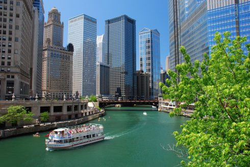 Chicago River, Architectural River Cruise, USA