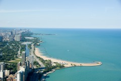 Chicago, Michigan Lake, USA