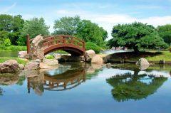 Chicago, den japanske broen, Jackson Park Osaka Garden, USA