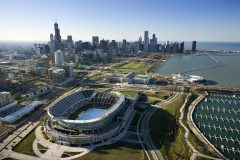 Chicago, Stadium Soldier Field, Illinois, USA