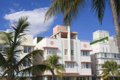 Miami Beach, Ocean Drive, Art Deco style, Florida, USA