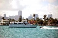 Miami, Vintage Yacht, Florida, USA