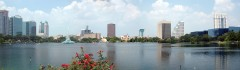 Orlando skyline, Florida, USA