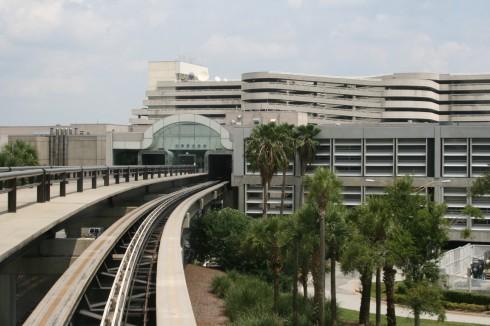 Orlando, monorail, Florida, USA