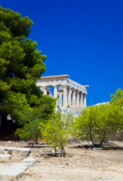 Afaia-tempelet Aegina, Hellas