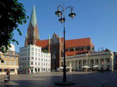 Schwerin, Altstadt, Alter Markt, Am Markt, Nord-Tyskland