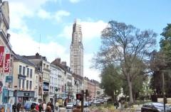 Amiens, Tour Perret, middelalder, katedralby, Unescos liste over Verdensarven, Nord-Frankrike