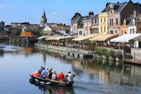 Amiens, Saint-Leu, quai Belu, middelalder, katedralby, Unescos liste over Verdensarven, Nord-Frankrike
