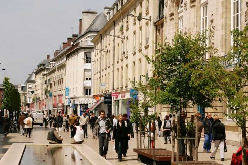 Amiens, gågate, shopping, middelalder, katedralby, Unescos liste over Verdensarven, Nord-Frankrike