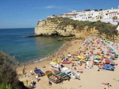 Carvoeiro, Algarve-kysten, Sør-Portugal