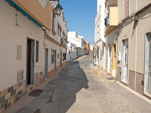 Fra gamlebyen i Alvor, Algarve-kysten, Sør-Portugal