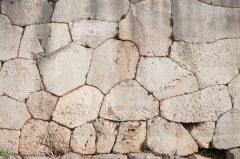 Mykene, Kyklopisk steinmur, Peloponnes, Hellas