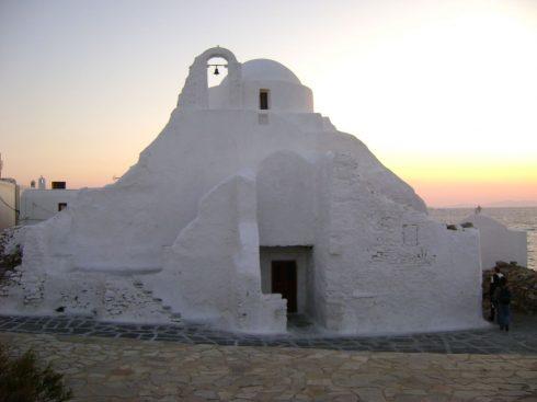 Mykonos, Panagia Paraportiani, Kykladene, de øvrige øyene, Hellas