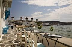Mykonos, Vindmøller, Kykladene, de øvrige øyene, Hellas