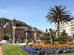 San Sebastian, rådhus Ayuntamiento, Baskerland, Nord-Spania