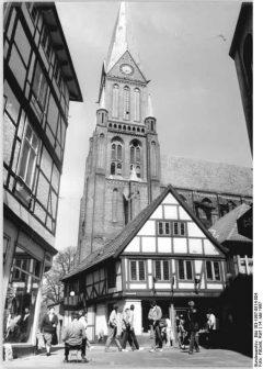 Schwerin, Dom, Fachwerkhaus, Nord-Tyskland