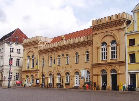 Schwerin, Rathaus, Am Markt, Alter Matkt, Nord-Tyskland
