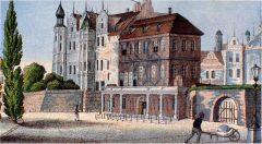 Schwerin, Altstadt, Schweriner Schloss, Mecklenburg-Vorpommern, Nord-Tyskland