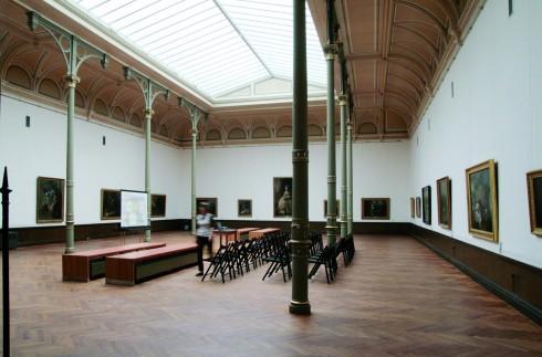 Schwerin, Staatliche Museum, Altstadt, Alter Garten, Mecklenburg-Vorpommern, Nord-Tyskland