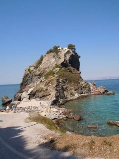 Skopelos, Agios Ioannis, Mama Mia, Sporadene, Hellas