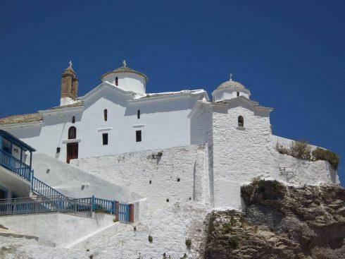 Skopelos, Panagía tou Pýrgou, Sporadene, øyene, Hellas