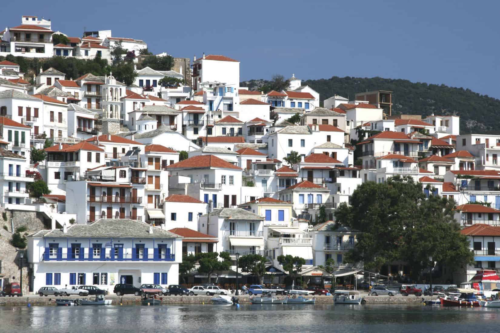 Skopelos, Skopelos by, Øyene, Sporadene, Hellas