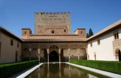 Spania, Alhambra, Granada, Andalucia, middelalder, Unescos liste over Verdensarven