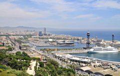 Spania, Barcelona, Montjuice, Barrio Gotico, middelalder, Unescos liste over Verdensarven,