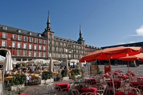 Spania, Madrid, Plaza Mayor, renessansen,