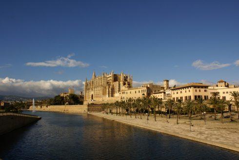 Spania, Palma de Mallorca, katedral, Unescos liste over Verdensarven
