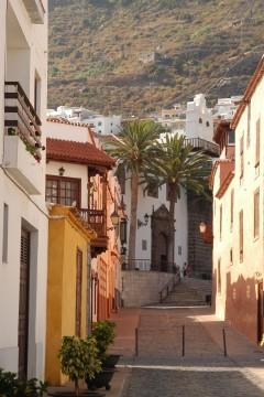 Tenerife, Garachico, gamlebyen, Kanariøyene, Spania