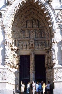 Amiens, St Firmins portal, Cathédrale Notre-Dame, middelalder, gotikken, katedralby, Unescos liste over Verdensarven, Nord-Frankrike