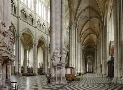 Amiens, Notre-Dame, gotikken, middelalder, katedralby, Unescos liste over Verdensarven, Nord-Frankrike