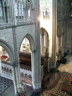 Amiens, Notre-Dame, korstoler, trancept, middelalder, katedralby, Unescos liste over Verdensarven, Nord-Frankrike