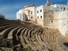 Cadiz, romersk teater, Spania
