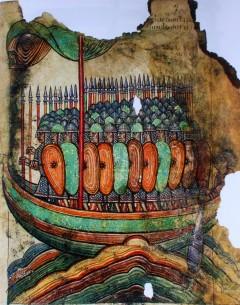 Vikinger, normannere, St Aubin, Frankrike