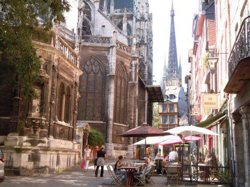 Rouen, Vest-Frankrike,