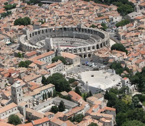 Arles, romertid, Unescos liste over Verdensarven, Sør-Frankrike