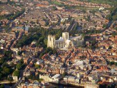 York, Yorkshire, middelalder, katedral, The York Minster, vikinger, vikingtid, romere, romertid, Konstantin den Store, angelsaksere, England, Storbritannia