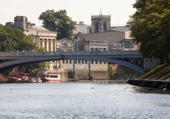 Lendal Bridge, York, Yorkshire, middelalder, katedral, The York Minster, vikinger, vikingtid, romere, romertid, Konstantin den Store, angelsaksere, England, Storbritannia