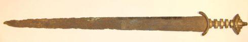 The Gilling Sword, York, Yorkshire, middelalder, katedral, The York Minster, vikinger, vikingtid, romere, romertid, Konstantin den Store, angelsaksere, England, Storbritannia