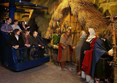 Jorvik Viking Centre, Coppergate, York, Yorkshire, middelalder, katedral, The York Minster, vikinger, vikingtid, romere, romertid, Konstantin den Store, angelsaksere, England, Storbritannia