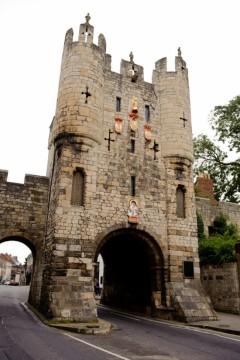 Mickelgate Bar, York, Yorkshire, middelalder, katedral, The York Minster, vikinger, vikingtid, romere, romertid, Konstantin den Store, angelsaksere, England, Storbritannia