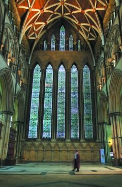 Seven Sisters, York, Yorkshire, middelalder, katedral, The York Minster, vikinger, vikingtid, romere, romertid, Konstantin den Store, angelsaksere, England, Storbritannia