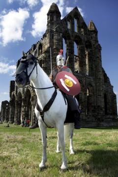 St Mary's Abbey, York, Yorkshire, middelalder, katedral, The York Minster, vikinger, vikingtid, romere, romertid, Konstantin den Store, angelsaksere, England, Storbritannia