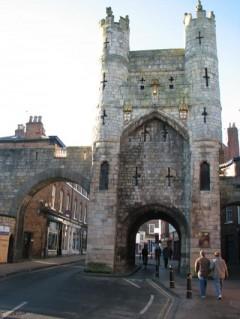Monk Bar, York, Yorkshire, middelalder, katedral, The York Minster, vikinger, vikingtid, romere, romertid, Konstantin den Store, angelsaksere, England, Storbritannia