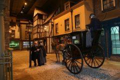 Kirkgate Victorian Street at York Castle Museum, York, Yorkshire, middelalder, katedral, The York Minster, vikinger, vikingtid, romere, romertid, Konstantin den Store, angelsaksere, England, Storbritannia